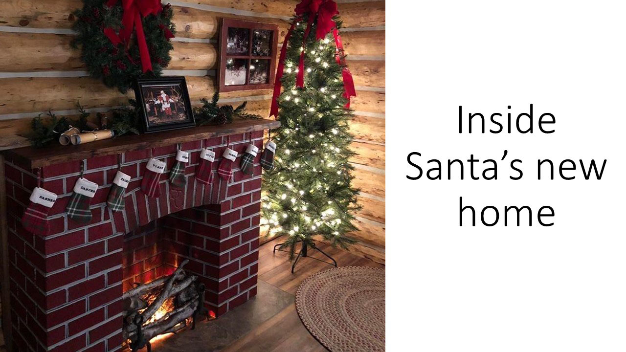 Santa's Cabin photo tour. Slide 3